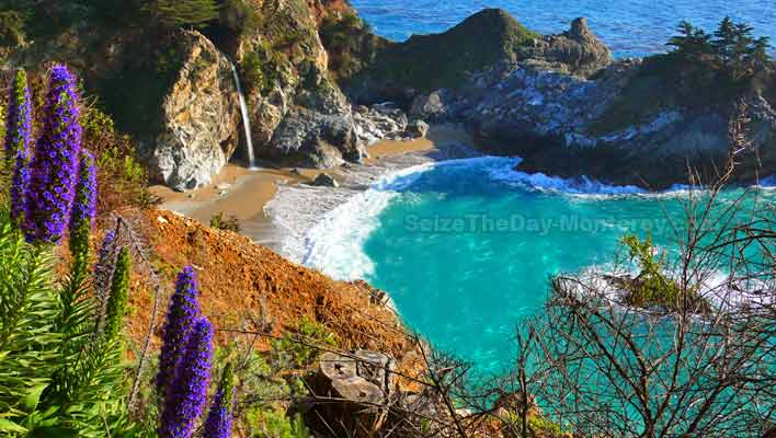 The Best of Big Sur! McWay Falls is one of the best spots in Big Sur!