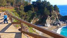McWay Falls is the perfect Family Spot with a short and easy 5 minute hike to views you cannot believe!