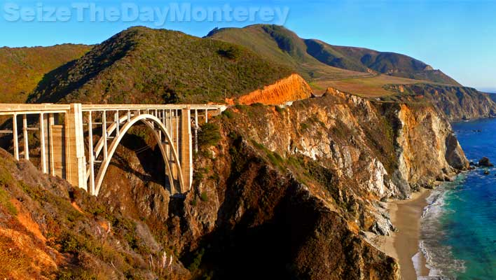 Bixby Bridge is Big Sur's most famous bridge
