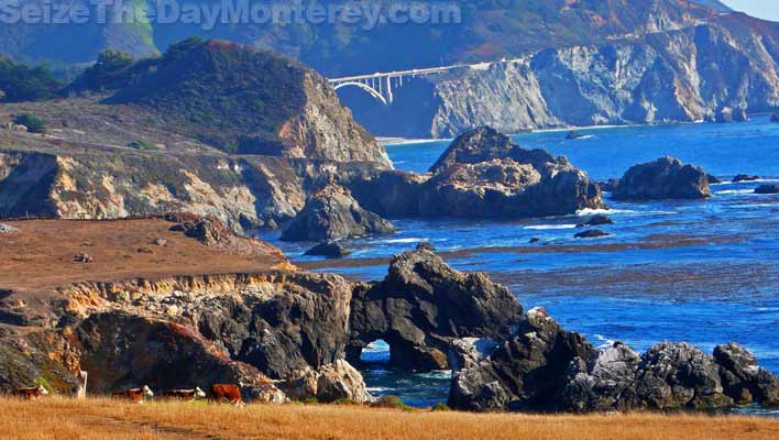 Rocky Point in Big Sur California offers great views