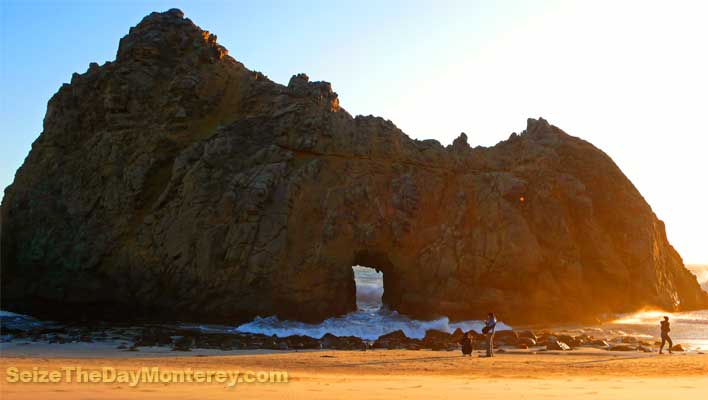 Pfeiffer Beach in Big Sur California is amazing.  It surely is one of the Best Big Sur Beaches!