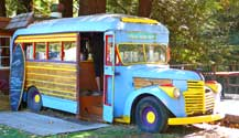Snack Bus at the Big Sur Village