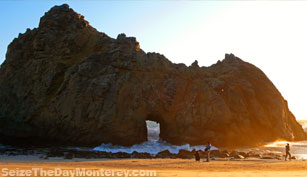 Pfeiffer Beach in Big Sur California is nothing short of Stunning!