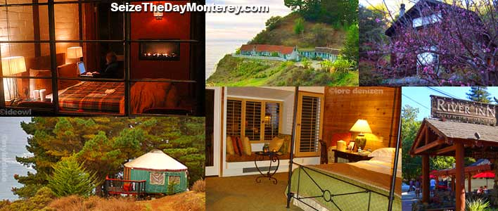 Big Sur Lodging offers a number of options be it the ultimate luxury stay to the rustic and cozy.