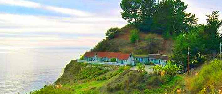 Big Sur Lodging with an ocean view!