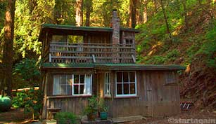 Many Big Sur hotels and cabins do not have TVs or phones.