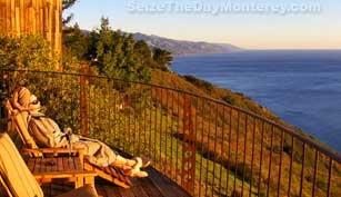 There are Big Sur Resorts that are nothing short of downright luxurious!