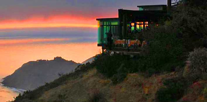 Big Sur Lodging with an ocean view is spectacular at the Post Ranch Inn!