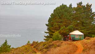 The Treebones Resort offers both ocean views and a unique Big Sur Lodging experience!