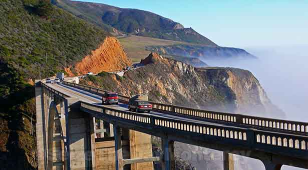 Bixby Bridge in Big Sur is a site to behold and it is completely FREE!
