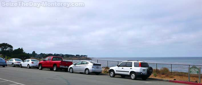 FREE Monterey Bay Aquarium Parking exists! This picture proves it!
