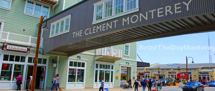The Monterey Clement is one of the Premiere Monterey Hotels just a few blocks from the Monterey Aquarium!