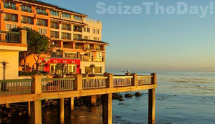 The Monterey Plaza Hotel and Spa is right on Cannery Row and just a half mile from the Monterey Aquarium!