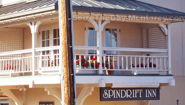 The Spindrift Inn on Cannery Row is just a quick walk to the Monterey Aquarium.