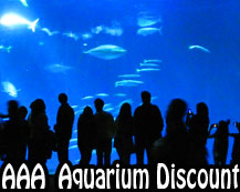 Monterey Aquarium Discount at AAA office can be had.  Call first though.