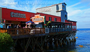 The Fish Hopper is a mere 5 minute stroll down Cannery Row and they have great Seafood!