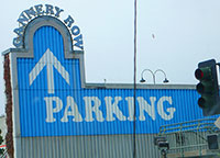 Monterey Bay Aquarium Parking Garage in Cannery Row