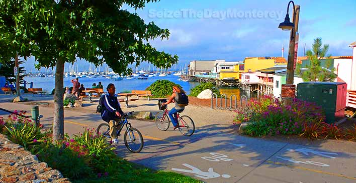 The Monterey Bay Recreational Trail is the perfect way to see Monterey!