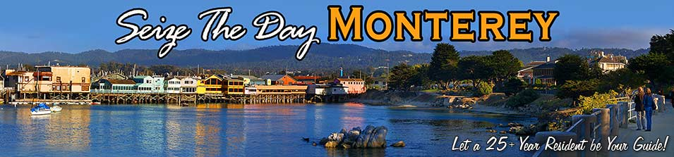 Monterey California Fishermans Wharf is a must visit! Be sure to walk the Recreational Trail as well! Seize The Day Monterey!