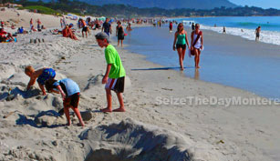 Carmel Beach is one of the best beaches in the Monterey Bay!
