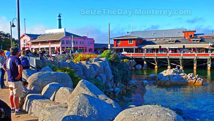 Fishermans Wharf in Monterey California is a must do!