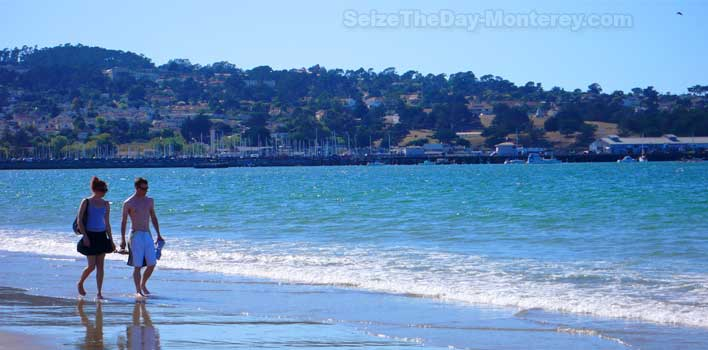 Monterey State Beach is one of the best walking Beaches on the Monterey Bay!!!