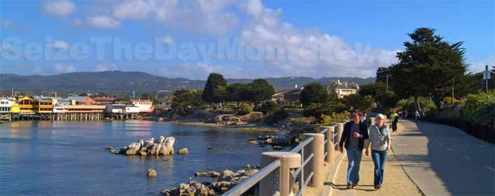 Walk the Recreational Trail from the Monterey Wharf to Cannery Row!