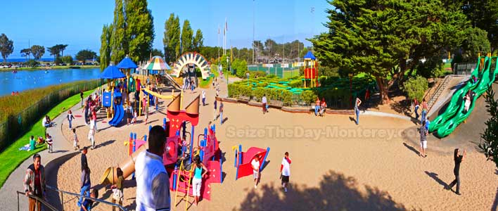 Dennis the Menace Park is a fantastic place to take the kids in Monterey CA