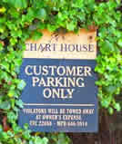 Free Parking is available at the Charthouse just across the way!