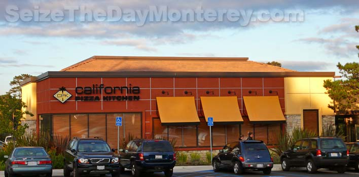 The California Pizza Kitchen is one of the best pizza joints of all the Monterey Restaurants!