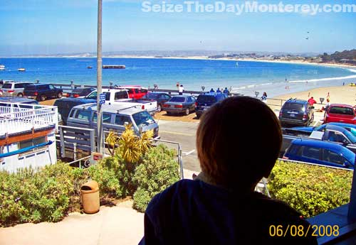 Sopporo Japanese Steakhouse in Monterey has a great view of Monterey Beach and the Harbor!