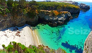 China Beach at Point Lobos is something made of the Movies
