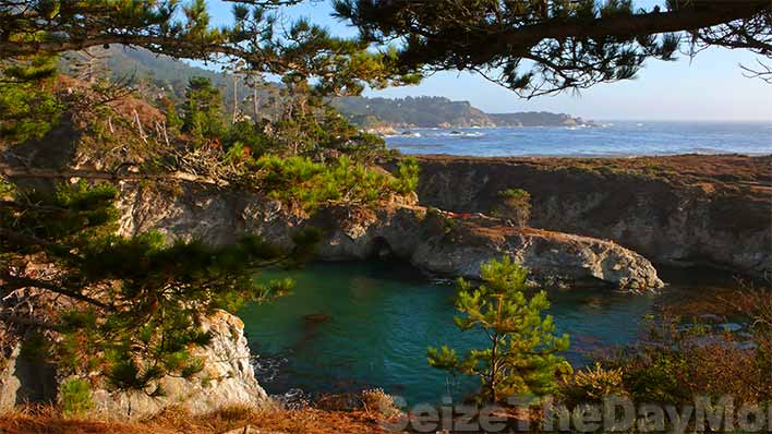 China Cove at Point Lobos is simply breathtaking.  You can get into Point Lobos for FREE!